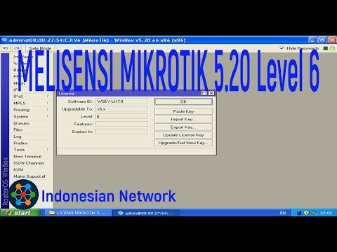 download mikrotik cracked v.5.20 + license key level 6