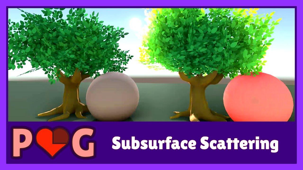 Shader Showcase Saturday #8: Subsurface Scattering - Alan
