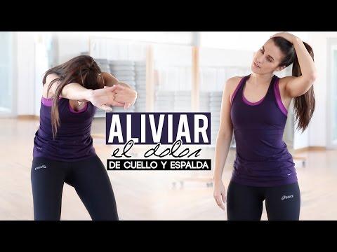Aliviar dolor espalda y cuello / cervicales