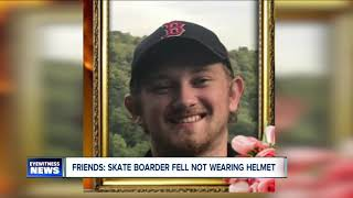 Skate boarder dies after skating accident without helmet