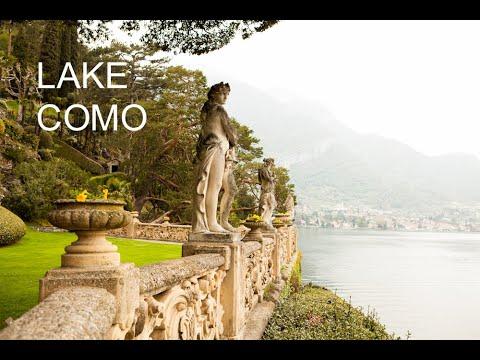 Lake Como - Relaxing-Healing HD Recording of Beautiful Scenery at Lake Como Italy