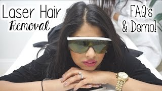 Laser Hair Removal Experience | Demo | FAQ