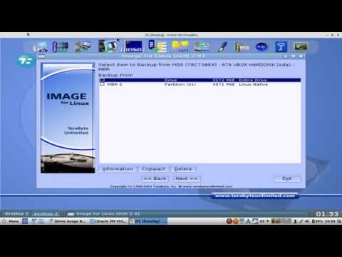 Terabyte Unlimited's Image for Linux