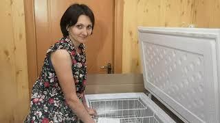 Морозильный ларь  Бирюса 355 VK / Обзор морозильного ларя для дома
