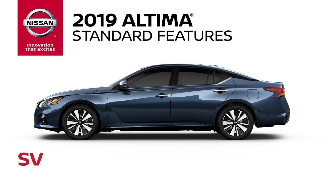 2019 Nissan Altima Sv Walkaround Review