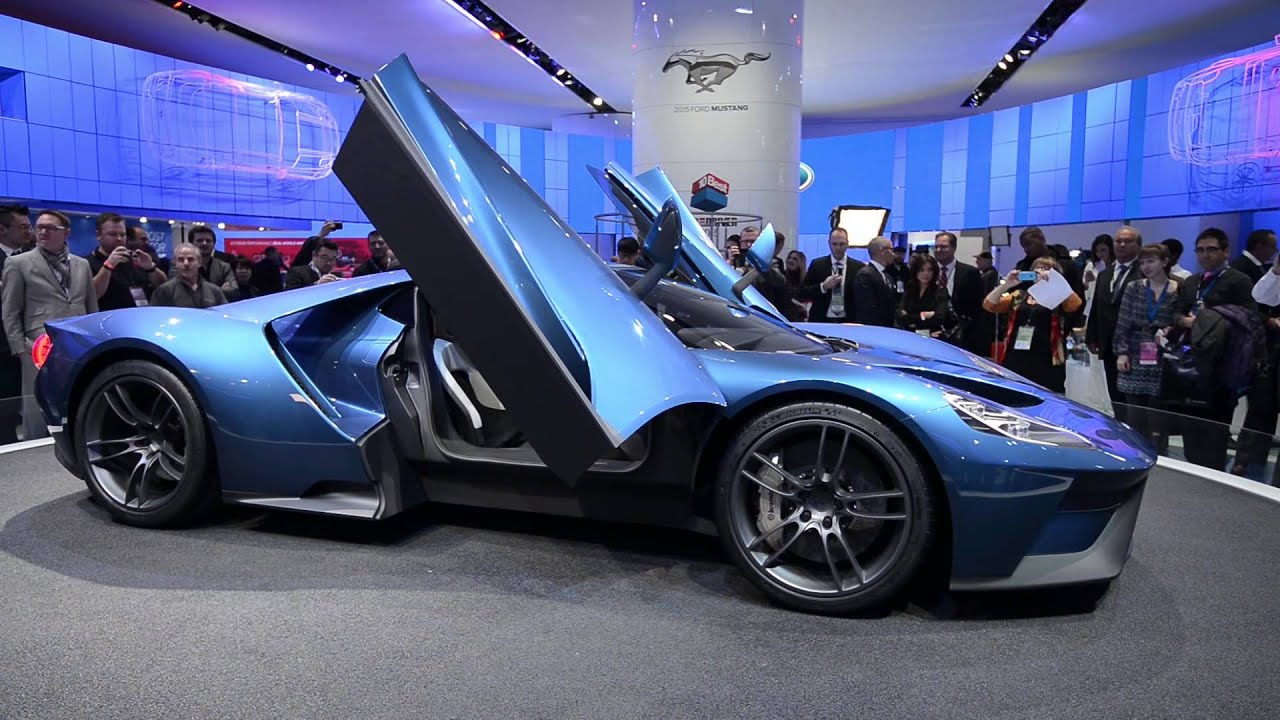 New Ford GT, 2005 Ford GT, Ford GT40 Walkaround - NAIAS 2015 - YouTube
