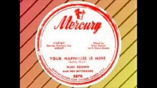 Wini Brown and his Boyfriends - Your Happiness Is Mine (MERCURY)