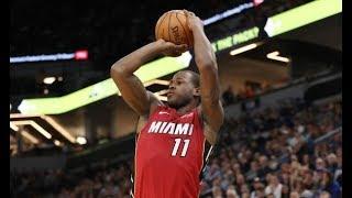 The Miami Heat Hit 19 Threes vs. T-Wolves | November 24, 2017