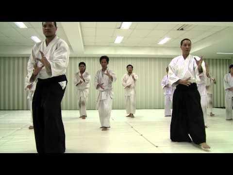 Practice at Sacred Heart Aikido Center Cebu on Aug 29, 2009