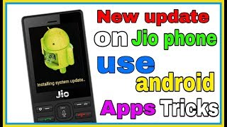 How to use Android Apps on Jio Phone#1//by Androidcity