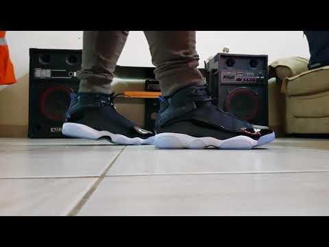 24aeeac5de9f97 Jordan Space jam 6 rings - YouTube