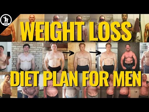Men's Diet Plan To Lose Weight (EASY and SUSTAINABLE)