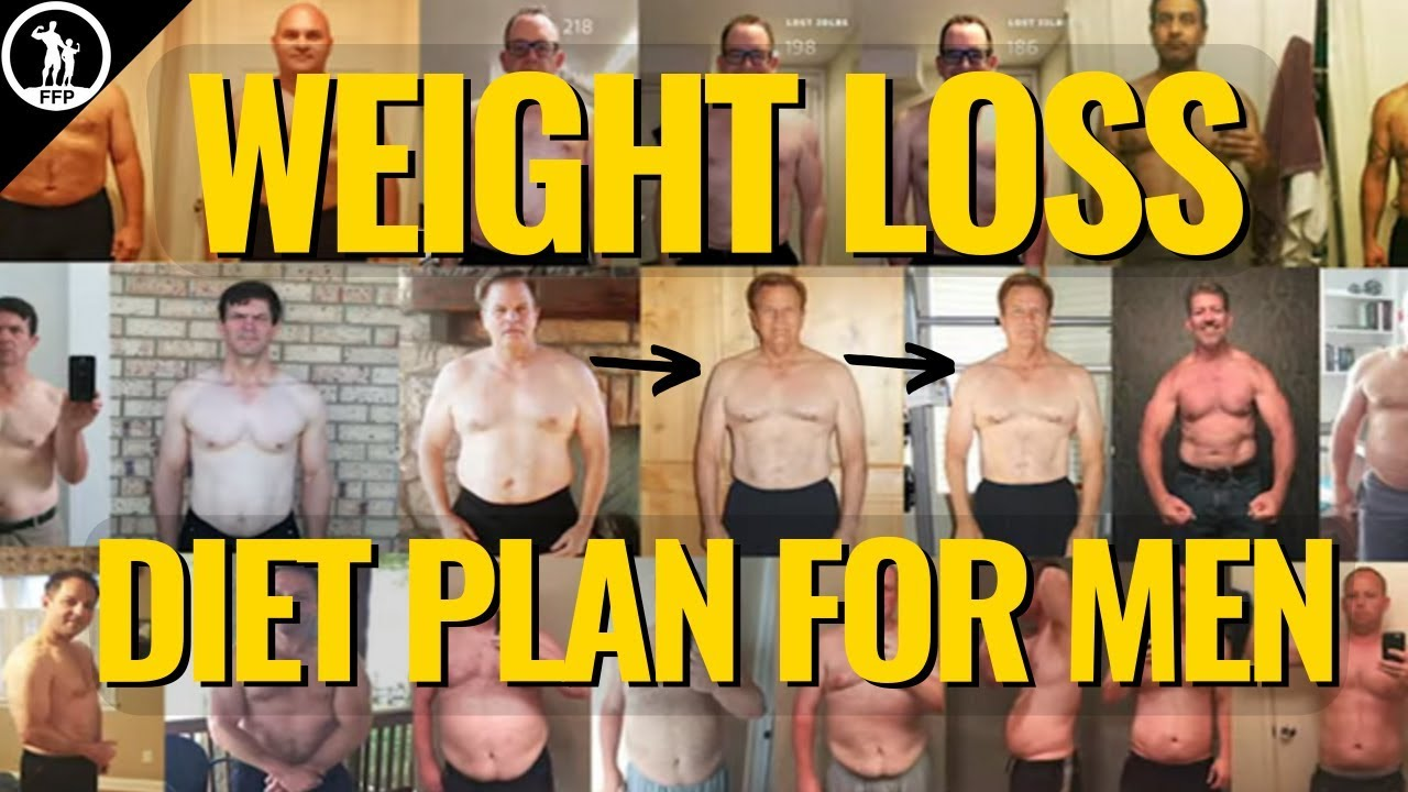 diet plan for weight loss for men