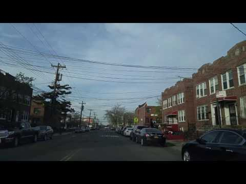 Driving from Canarsie to East New York in Brooklyn,New York