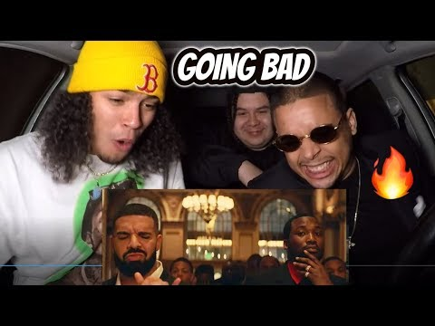 Meek Mill - Going Bad feat Drake   REACTION REVIEW