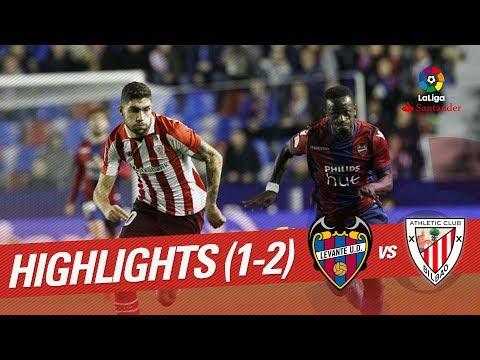 Resumen de Levante UD vs Athletic Club (1-2)