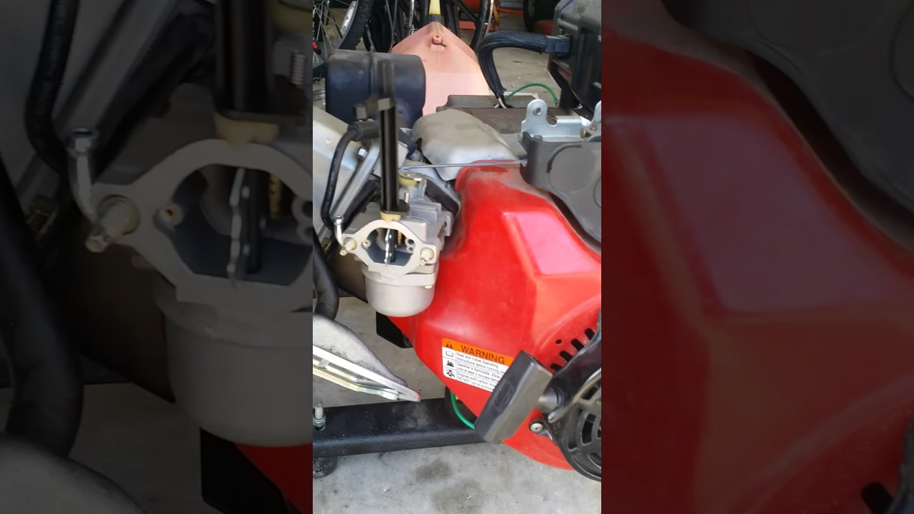 how to fix a coleman powermate generator 6250 that won t start [ 1280 x 720 Pixel ]