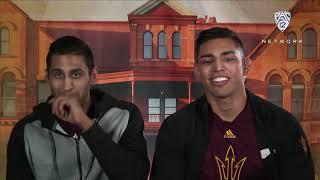 \'Teammate Challenge\' live: Arizona State wrestling\'s Anthony and Zahid Valencia