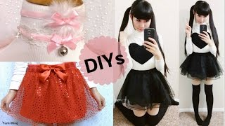 3 Valentines DIYs: DIY Velvet Chokers+ DIY Double Layer Heart Tulle Skirt+ DIY Black Heart Outfit