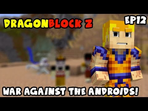 EPIC FAIL! I'M TRAPPED!! War Against The Androids | Dragon Block Z Episode 12
