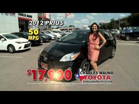 Great Pre Owned Deals At Charles Maund Toyota!