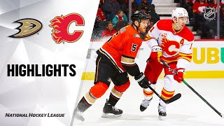Nhl Highlights | Ducks @ Flames 02/17/20