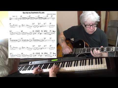 "Swingin' Shepherd Blues - Jazz guitar & piano cover ( Morris ""Moe"" Koffman ) Yvan Jacques"