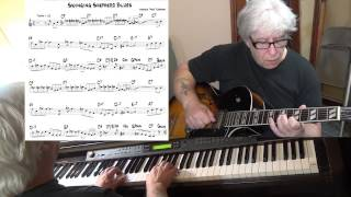 "Swingin' Shepherd Blues - Jazz guitar & piano cover ( Morris ""Moe"" Koffman ) Yvan Jacques"
