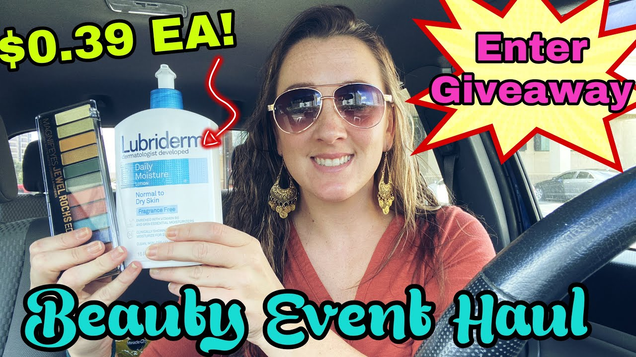 Walgreens Beauty Event Haul - Enter Giveaway!