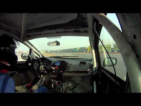 Driving a CTCC Touring car...
