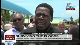 Floods: CS Wamalwa urges counties to set up emergency funds