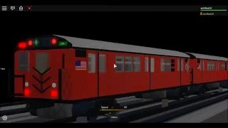 ROBLOX: Testing the new R33ML (6) express train