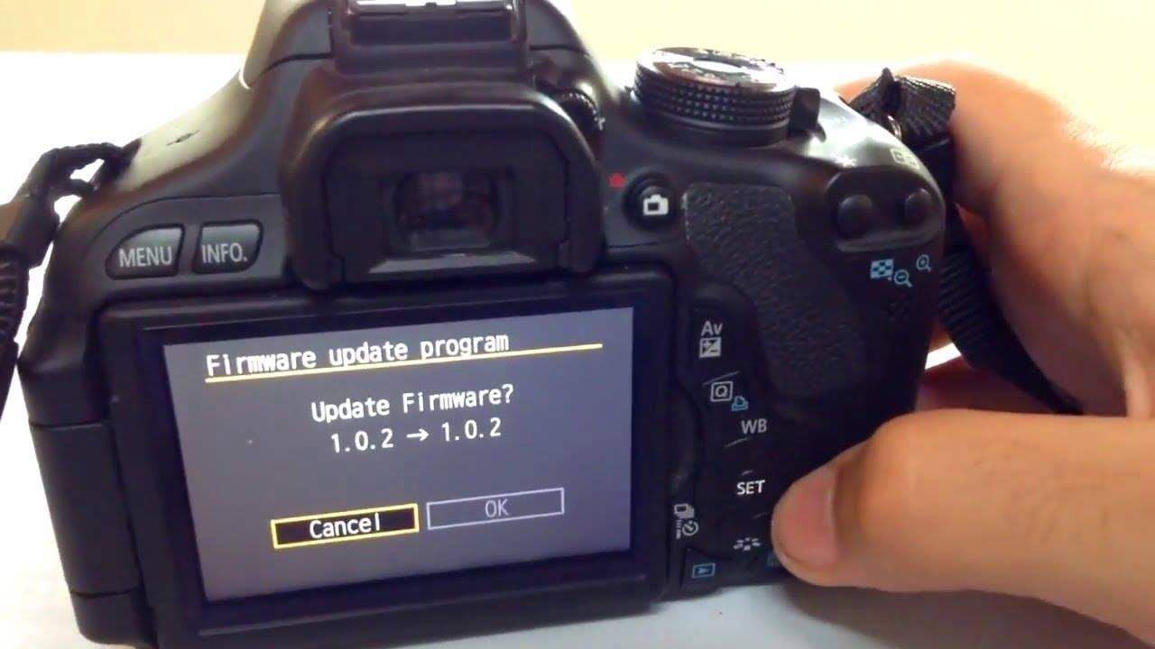 Canon released firmware version 1. 0. 1 for eos 600d/t3i canonwatch.