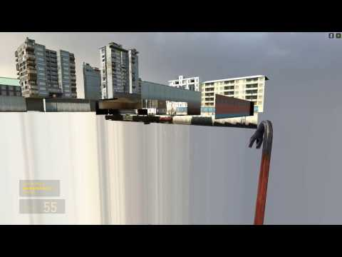 Half-Life 2 Shield Tablet Out Of Bounds/ABH