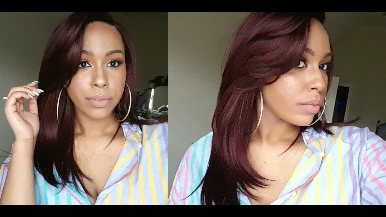 22 This 99j Color Sensationnel Empress Synthetic Lace Parting