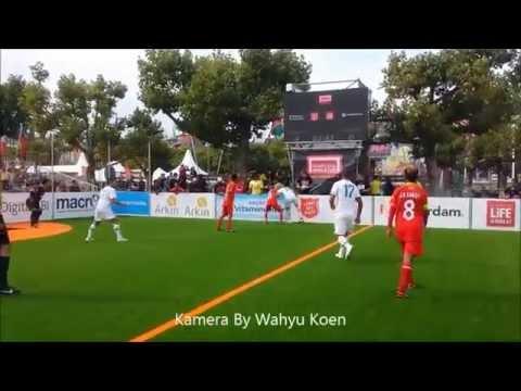 HOMELESS WORLD CUP 2015  Amsterdam  INDONESIA vs SLOVENIA  By Wahyu