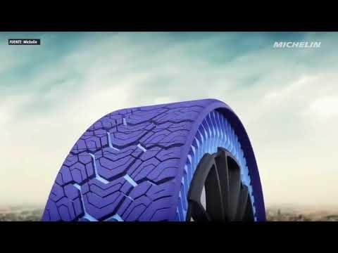 Las primeras ruedas sin aire