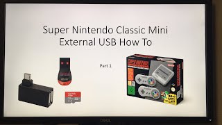 SNES mini USB mod - How To (take 2)