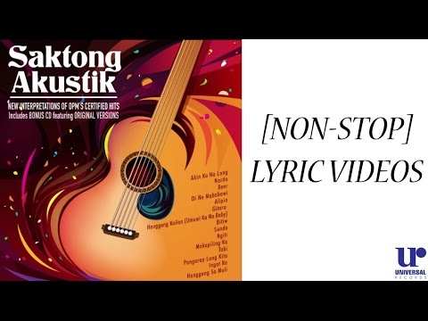 Saktong Akustik: Female Rendition of OPM Band Hits (LYRIC VIDEOS)