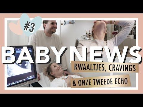 MIJN ZWANGERSCHAP: KWAALTJES & CRAVINGS   BABY NEWS #3 - JOSH VELDHUIZEN