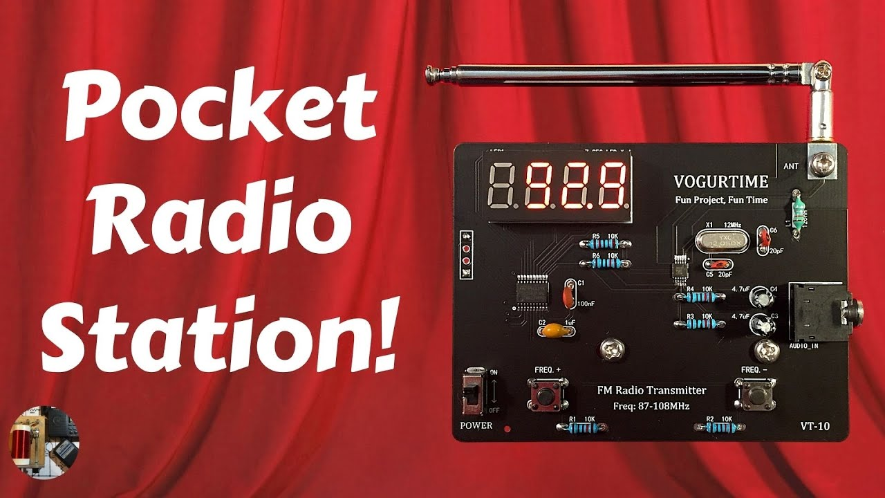 Elenco AmeriKit Learn to Solder Kit /& FM Radio Kit