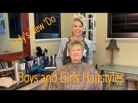 Hairstyles For Older Women - Short Pixie Haircut - Meet Judy