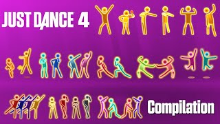 Just Dance 4 - Gold Moves Compilation