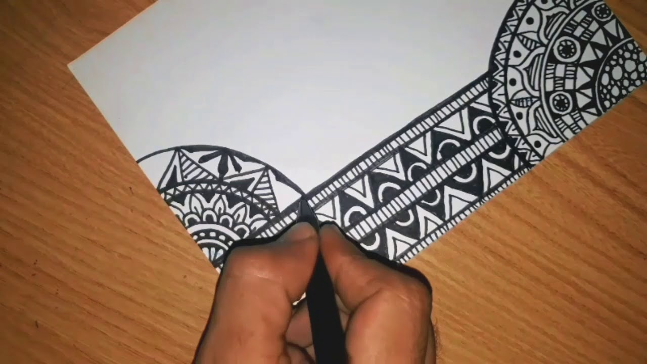 Download WOW.. How To Drawwing Zentangle Art Fast