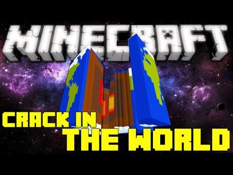 Minecraft: Crack in the World - SAVING THE WORLD...KINDA! (Adventure Map)