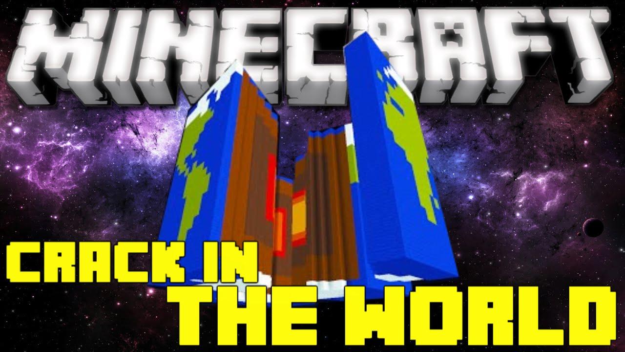 Minecraft: Crack in the World - SAVING THE WORLDKINDA! (Adventure Map)