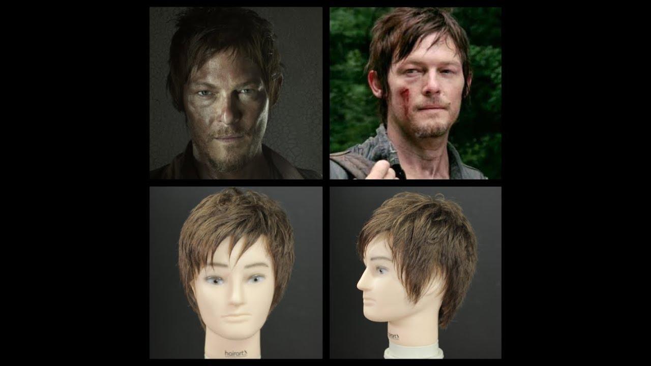 Daryl Dixon Haircut Tutorial The Walking Dead Youtube