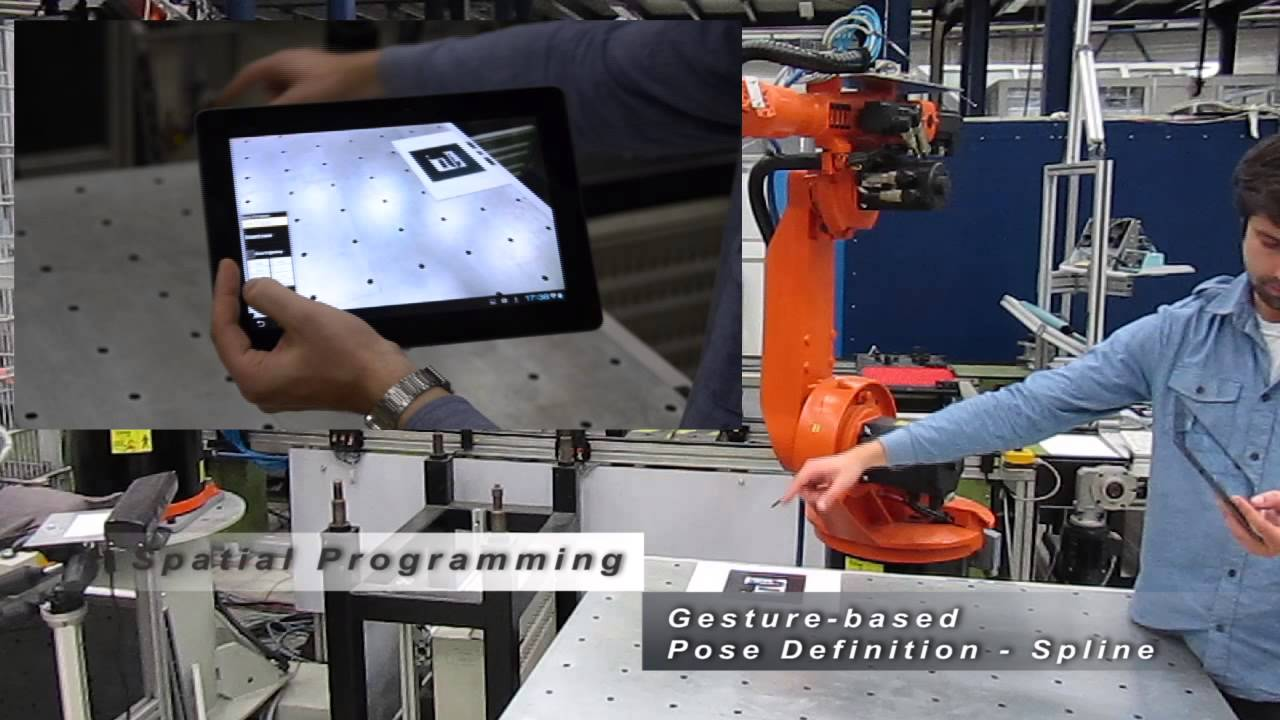 Intuitive Programming Of Industrial Robots Through