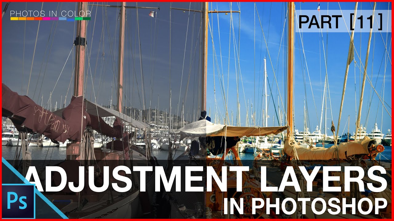 Photoshop adjustment layers tutorial photoshop tutorial for photoshop adjustment layers tutorial photoshop tutorial for beginners youtube baditri Image collections