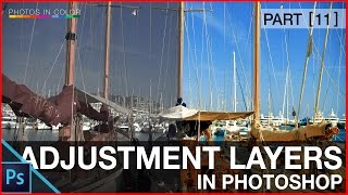 Photoshop adjustment layers tutorial - Photoshop tutorial for beginners